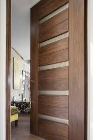Modern Bathroom Door Las Vegas Modern Home Interior Solid Wood Walnut Door With