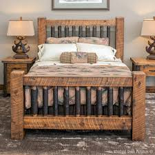 Timber Frame Bed Timber Frame Bed Sawmill Timber Frame Bed With Hickory Spindles