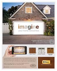 Design Your Garage Door Visit Www Imagine Clopay Com To See How A New Clopay Garage Door