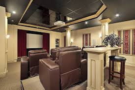 Home Theater Design Ideas Endearing Decor Home Theater Pjamteen