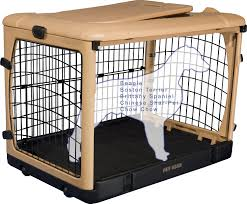 pet gear the other door steel crate u0026 fleece pad medium chewy com