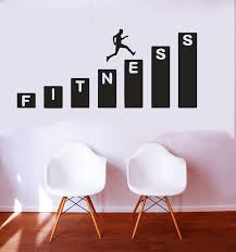 design with vinyl deer wall decal dwvl4256 301987275593 26 99 fitness chart dumbell vinyl wall decal sticker gym workout home buisness weights