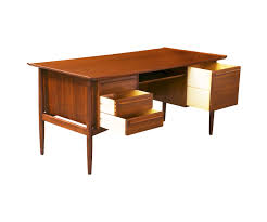 Modern Executive Desks by Danish Modern Executive Desk By H P Hansen Danish Modern L A