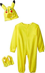 pikachu costume child s deluxe pikachu costume one color