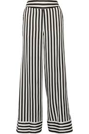 malene birger sale by malene birger ladralla striped satin wideleg black women
