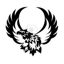 open wings eagle tattoo design clipart panda free clipart images