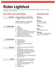 Types Of Skills To Put On A Resume 13 Student Resume Examples High And College