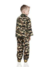Boys Army Halloween Costume Kids Army Boy Halloween Costume Military Soldier Recruit Camo