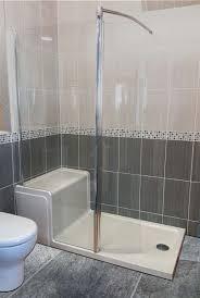 lakes shower seated shower tray u0026 walkin enclosure 1500 x 800