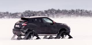 nissan juke nismo price nissan juke nismo rsnow fitted with tracks to tackle lapland