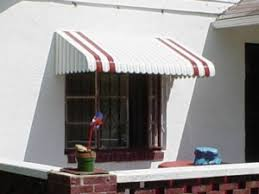 Used Mobile Home Awnings How To Paint A Metal Window Awning Curb Appeal Pinterest