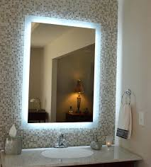 Cordless Lighted Makeup Mirror Cool Led Light Wall Mounted Makeup Mirror By Glimmer By Nameeks