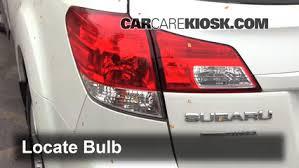 2008 subaru outback brake light bulb tail light change 2010 2014 subaru outback 2011 subaru outback 3 6