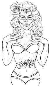 pin up coloring pages chuckbutt com