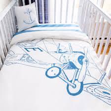 biplane crib bedding set organic cotton baby bedding edelekids