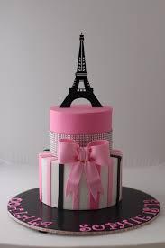 Cake Decoration At Home Ideas Interior Design Awesome Paris Themed Cake Decorations Room Ideas