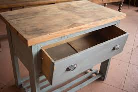Vintage French Kitchen Work Table At 1stdibs