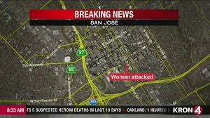 San Jose Traffic Map by Video Woman Hospitalized After Early Morning Attack Near San Jose