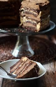 10 layer chocolate caramel mousse cake cake pinterest