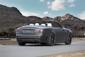 rolls royce sports car mansory refinement programme for the rolls royce dawn u2013 proudmag