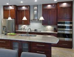 Kitchen Ideas With Cherry Cabinets River White And Shaker Cabinets This Is Pretty U2026 Pinteres U2026