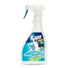 produit répulsif canapé pulvérisateur répulsif chats et chiens kapo hygiène et soin