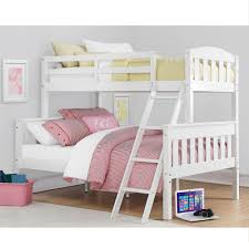 White Wooden Bunk Bed Walker Edison Furniture Company Rustic Twin Over Twin Wood Bunk