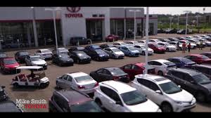 toyota car dealership mike smith toyota your