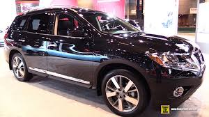 nissan pathfinder 2014 interior 2015 nissan pathfinder platinum 4wd exterior and interior