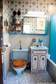 Blue Bathroom Fixtures L Appartement Vintage De Et Anthony Wes Retro