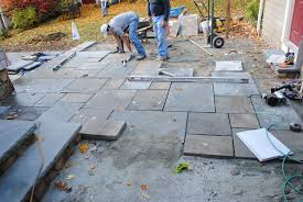 Dry Laid Bluestone Patio by Bluestone Patio Installation Home Design Awesome Gallery To