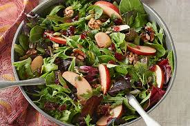 apple cranberry salad toss kraft recipes