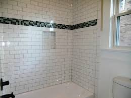 modern subway tile bathroom designs extraordinary ideas incredible