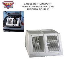 auto box caisse de transport chien pour coffre de voiture autobox 900