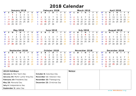 february 2018 calendar printable with holidays monthly calendar 2017