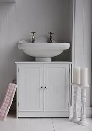 Under Bathroom Sink Cabinet by Sink Faucet Design Under Bathroom Sink Cabinets White Color