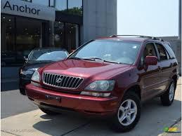 lexus rx red interior 2000 venetian red pearl lexus rx 300 awd 51943236 gtcarlot com