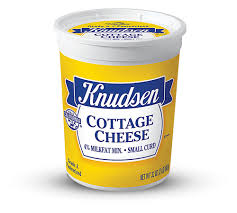 How Much Fiber In Cottage Cheese by Knudsen Products Cottage Cheese