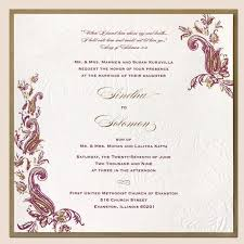 best indian wedding invitations indian wedding invitation best sle template wedding invitation