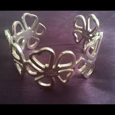 tiffany bracelet silver cuff images 75 off tiffany co jewelry today only sale tiffany flower jpg
