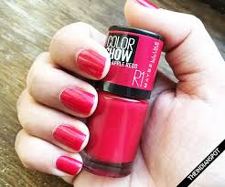 maybelline colorshow big apple reds nail polish review theindianspot