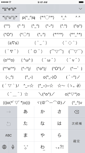 Meme Faces In Text Form - this stock keyboard is hiding tons of fun emoticons o