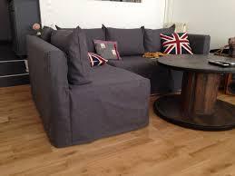 housse pour canapé d angle une housse sur mesure pour mon canapé d angle ikea la 4ème est