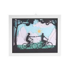 modern 3d decorative painting with frame delicate paper sales