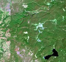 Map Of Yellowstone National Park Yellowstone National Park Usa Earthshots Satellite Images Of