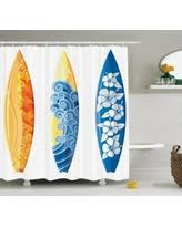 Surf Bathroom Decor Save Your Pennies Deals On Surf Decor Shower Curtain Set Cute