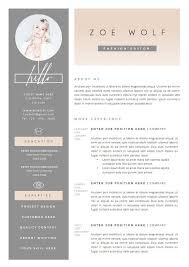 girly feminine resume template on word 11 dazzling creative resume templates