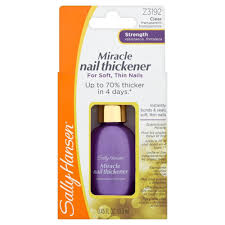 sally hansen nail growth cure strengthener review