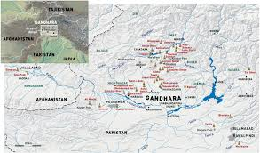 Ancient India Map by Gandhara Maps