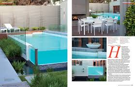 issue 12 6 of backyard u0026 garden design magazine showcases the